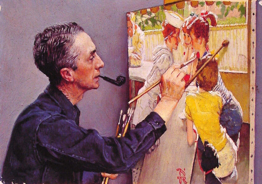 the life of norman rockwell an american painter and illustrator and his work the problem we all live - norman rockwell norman percevel rockwell was born on feb 3, 1894 in new york, new york as a boy he grew fond of the country, where he moved to a few years after he was born, and stayed away from the city as much as he could, which would later be shown in his works (buechner, retrospective, 24.
